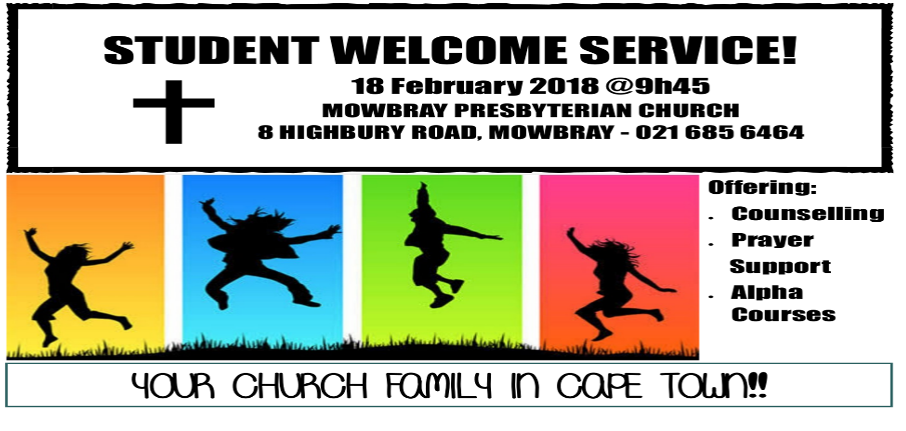 Students Welcome Service